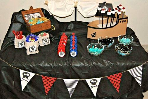 Guirnalda Pirata para imprimir : ¡Hola amigos de decoraciónfiestas! hoy tenemos el placer de compartir con todos vosotros nuestra guirnalda de Pirata, perfecta para decorar fiestas o espac