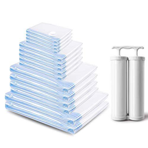 Mrs Bag Sacs Housses De Rangement Sous Vide Super Economiseur D Espace 15 Sac Pour Vetements Couettes Literie Oreillers Couver Home Decor Decor Container