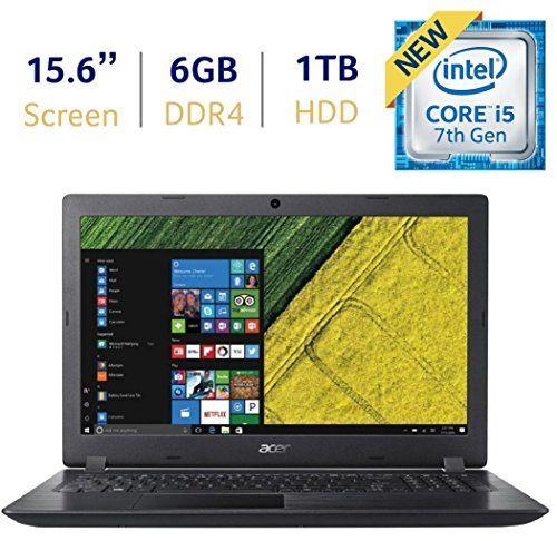 Acer Aspire 3 15 6 Inch Hd Led Backlit Display Laptop Pc 7th Gen Intel Dual Core I5 7200u 2 5ghz Processor 6gb Ddr4 Sdram 1tb Hdd 802 11ac Wifi Hdmi Webca Pc Laptop Laptop Acer Acer