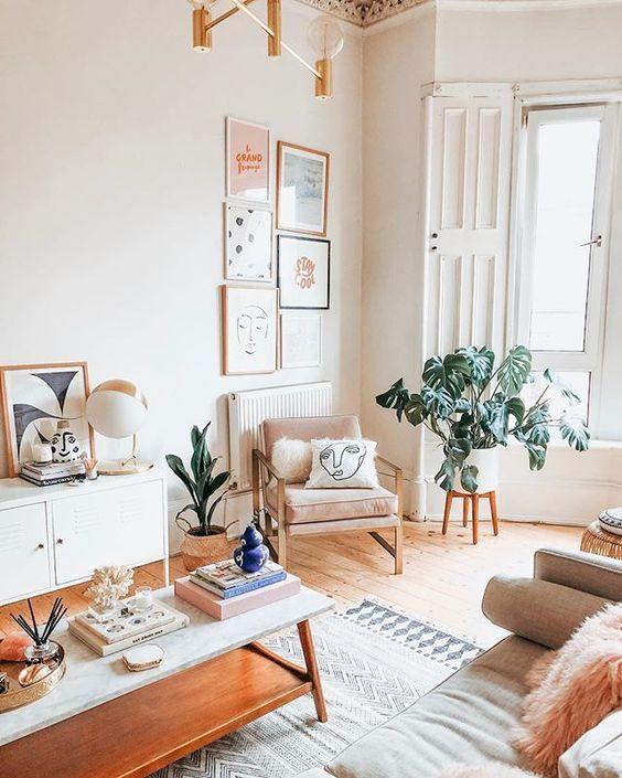 How To Create A Scandinavian Bohemian Living Room The Mood Palette Home Decor Bedroom Living Decor Home Living Room