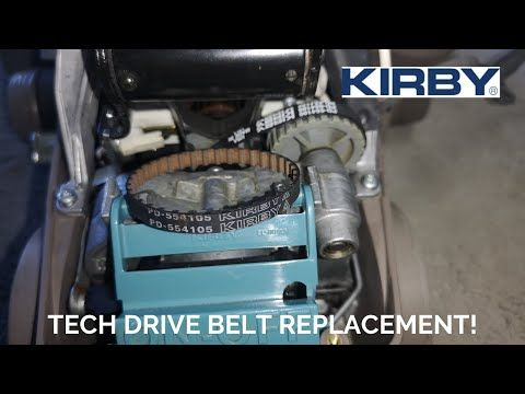 Kirby Sentria 2 Tech Drive Belt Change How To Youtube Kirby Sentria 2 Driving Tech