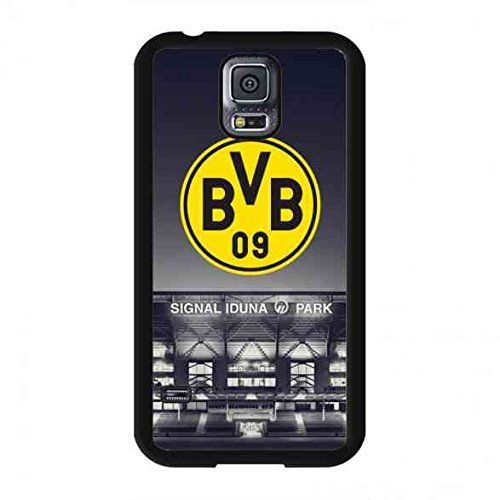BVB Logo Fallabdeckung,Borussia Dortmund Hülle Fit für Samsung Galaxy S5,TPU Fall Abdeckung Dortmund BVB Hülle,Samsung Galaxy S5 Handy-Tasche für Bundesliga BVB HandyHülle , http://www.amazon.de/dp/B01I9WBQHG/ref=cm_sw_r_pi_dp_XAgSxbTP8651R