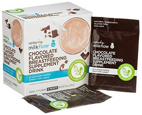Amazon Com Upspring Baby Milkflow Fenugreek And Blessed Thistle Powder Chocolate Lactation Supplement Heathy Drinks Blessed Thistle Breastfeeding Supplements