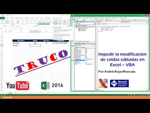 Pin En Excel