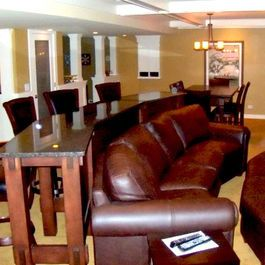 bar tables places to eat and couch on pinterest. Black Bedroom Furniture Sets. Home Design Ideas