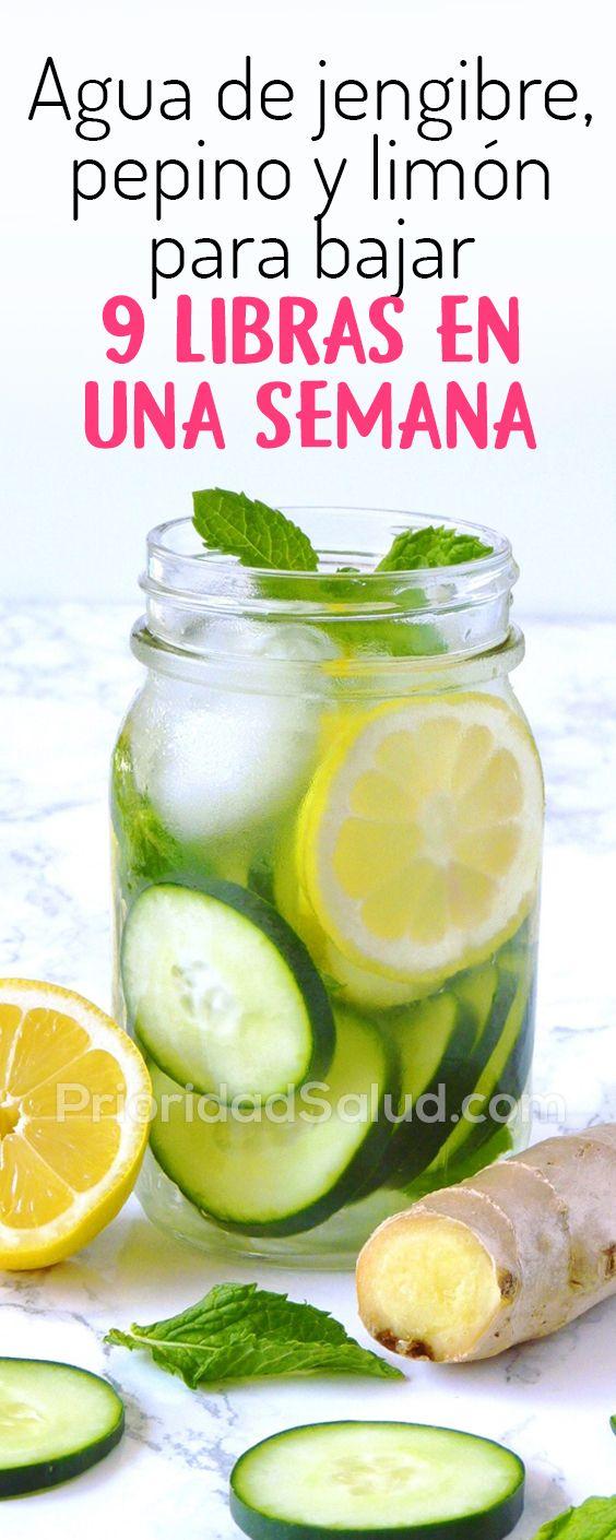 Peso para y pepino limon perder