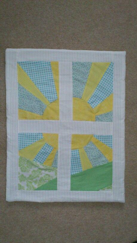 Baby blanket made for Rubestar
