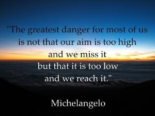 """""""The greatest danger..."""""""