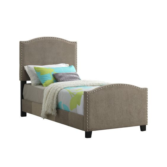 Glory Furniture Sona Upholstered Panel Bed & Reviews | Wayfair