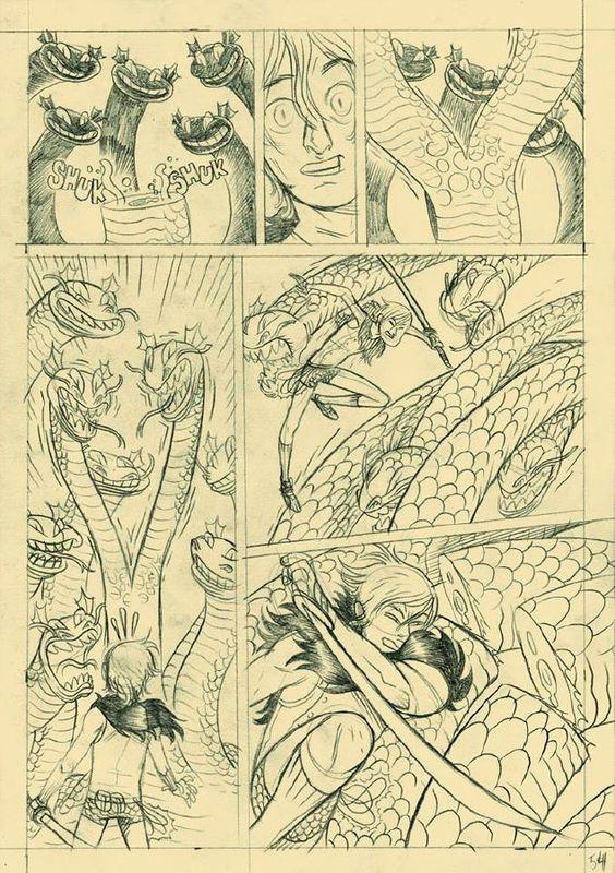 Página Las tripas de El Héroe - 01