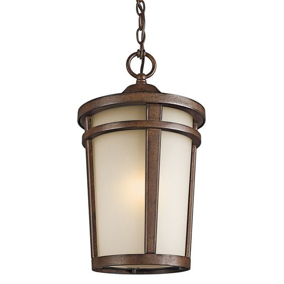 Kichler Lighting Atwood Collection 1-light stone Outdoor Pendant