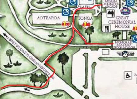 Directions From Shades Of Green To Disney S Polynesian