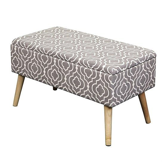 Marvelous Buy Glam Midcentury Ottoman Storage By Zen Better Living Bralicious Painted Fabric Chair Ideas Braliciousco