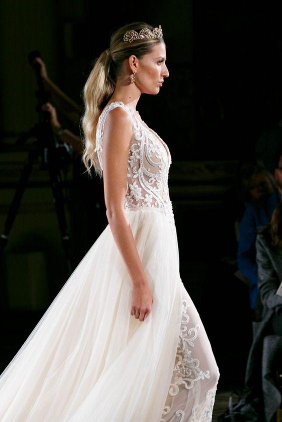 Exclusive Look Backstage at Bridal Fashion Week 2015