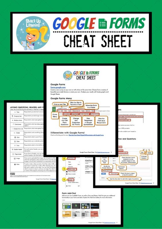 google forms cheat sheet for teachers and students google gafe another pin closer to a million pins wrhelcom pinterest teacher students and