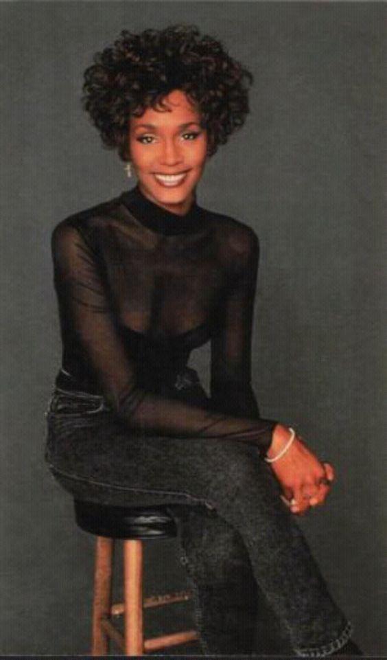 Photo of Whitney for fans of Whitney Houston.