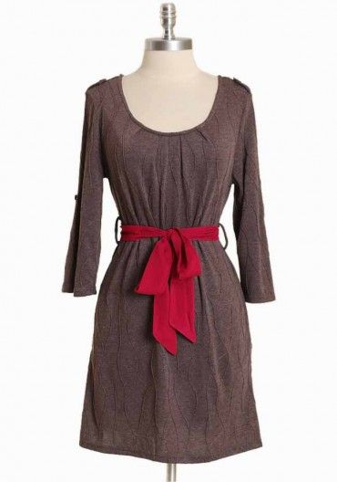 crossborough breeze dress in mocha    $36.99