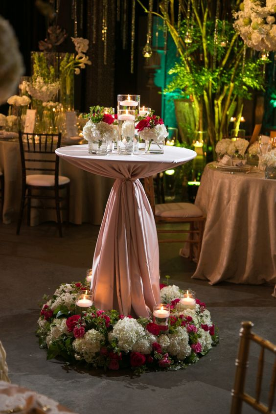 Beautiful Receptions And Tablecloths On Pinterest