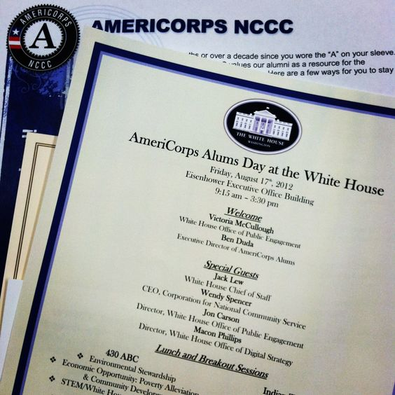 Program for #AmeriCorps Alums Day