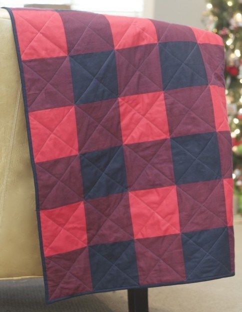 Tutorial Red Buffalo Plaid Quilt Home Sewn By Us Buffalo Plaid Quilt Buffalo Check Quilt Gingham Quilt