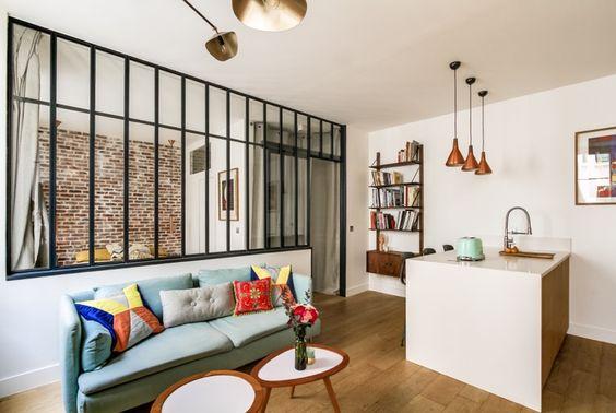 Case piccole: una ristrutturazione low budget dona nuova vita a un mini appartamento nel cuore di Parigi