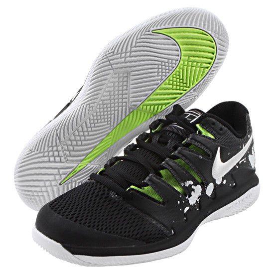 Nike Air Zoom Vapor X Hc Premium Men S Tennis Shoes Black Racket Nwt Av3911 001 Nike Mens Tennis Shoes Tennis Shoes Black Shoes