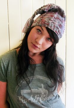 'Baby Pixie Hat' knitting pattern by Theatre Of Yarns