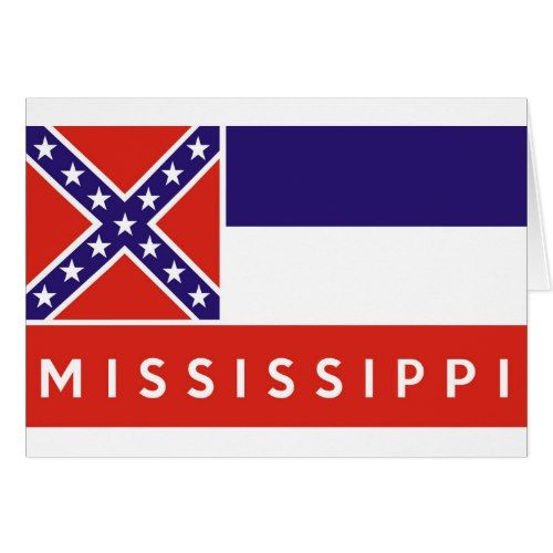 Mississippi State Flag America Country Text Name Zazzle Com Mississippi Mississippi State State Flags
