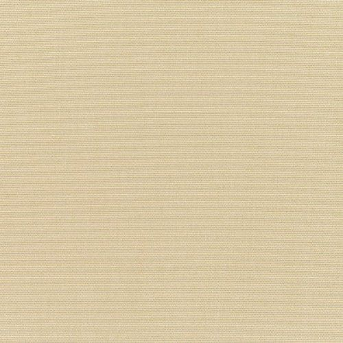 """Sunbrella Canvas Antique Beige Indoor/Outdoor Fabric 5422-0000 by Sunbrella. $21.95. 100% Solution Dyed Acrylic. Water resistant. Mildew resistant. Fade resistant. 54"""" wide. Sunbrella Canvas Antique Beige (5422-0000) is accurately named with its warm antique beige hue. Each yard will be 54"""" wide (actual roll width from the mill) and 36"""" long. Orders of more than one yard will be a continuous run. Sunbrella fabrics are made of 100% Solution-Dyed Acrylic. This indoor/..."""