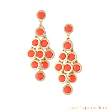 Cameron Beaded Cluster Earrings $19.00