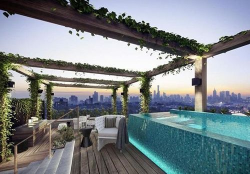 Thinking Of A Lovely Lavish Green Yard That Is Absolutely Green Is Certainly Really Heartening Rooftop Terrace Design Amazing Apartments Roof Terrace Design