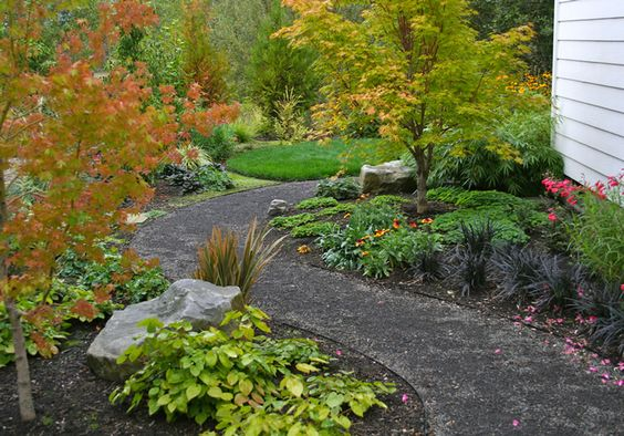 Landscape design in the nw professional landscape for Professional landscaping ideas