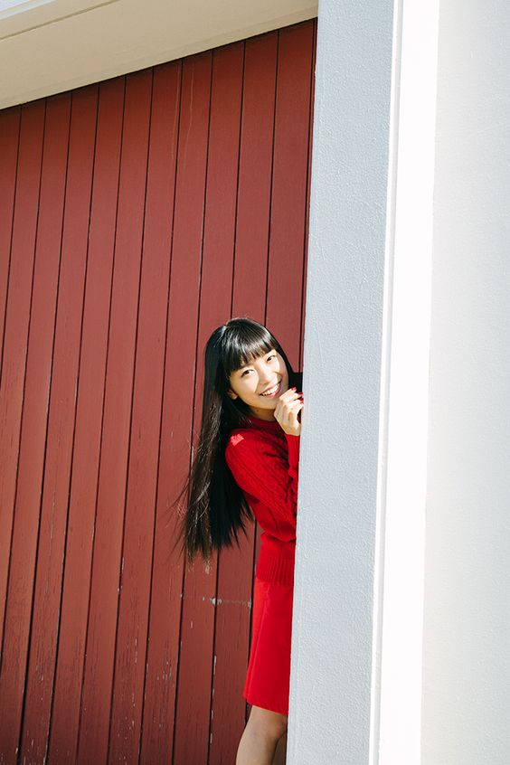 miwaの赤い衣装