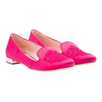 miu miu. pink slippers.
