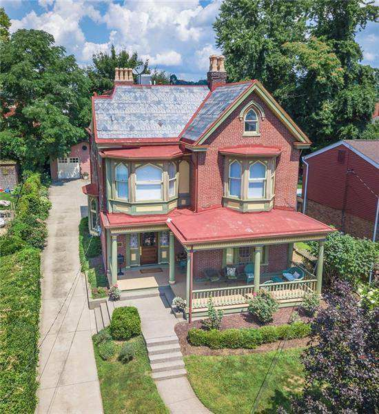 Rare Gothic Revival Home On Pittsburgh S North Side Showcasing Remarkable Architectural Features And Grand Gothic House Old House Dreams Different House Styles