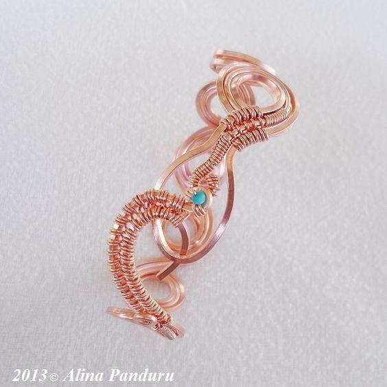 Wire-worked Bracelet