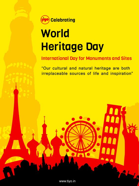 It is not the honor that you take with you, but the heritage you leave behind. Celebrating the Heritage today as we create one for ourselves. https://tiyo.in