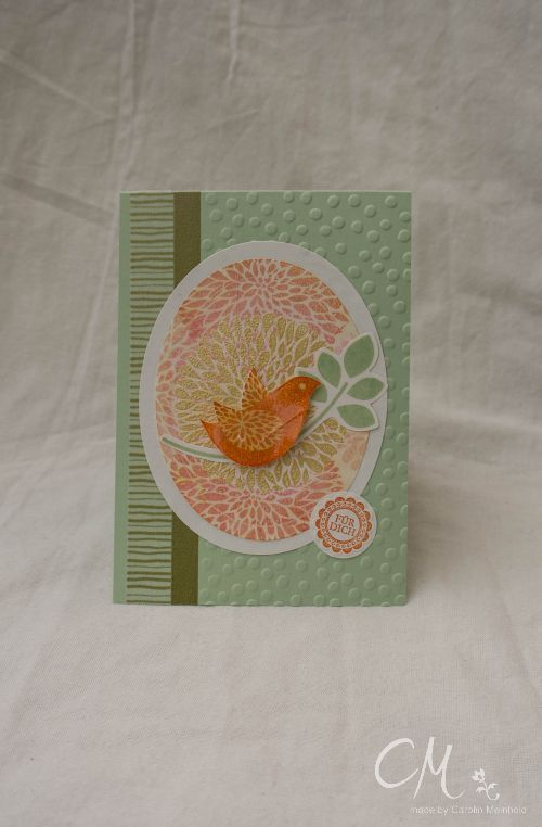 Caros Bastelbude: Stampingirls Smart Saturday - Challenge #28, Stampin' Up!, Betsy's Blossoms, Eine runde Sache, Punktemeer