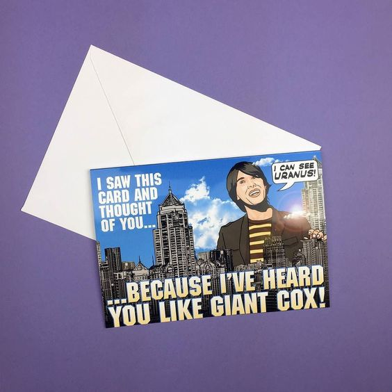 We  giant Cox! Greetings cards available from http://ift.tt/1ihQVKN with FREE uk shipping!