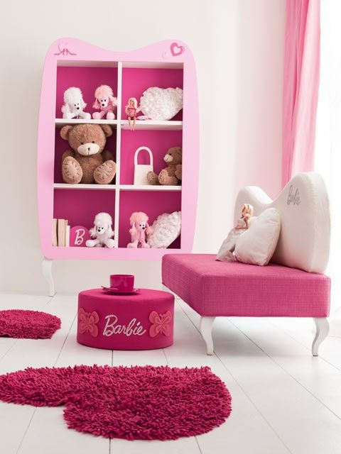 Composiciones para cuarto de ni a accesorios barbie for Muebles habitacion infantil nina