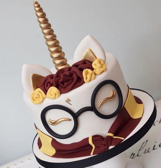 Magical Mystical Harry Potter Girl Harry Potter Birthday Cake