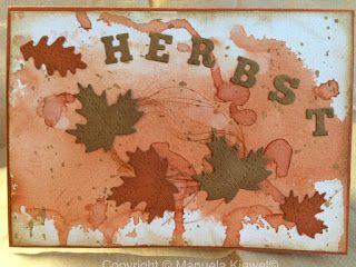 Manu´s Hobbytreff: Herbstchallenge