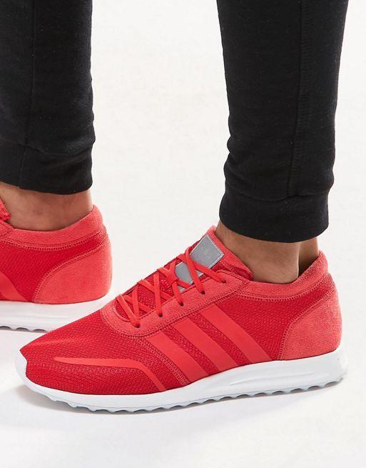 zapatillas hombres rojas adidas