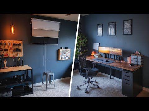 How I Built My Dream Diy Youtube Studio Youtube Home Studio Setup Home Office Setup Home Studio Ideas