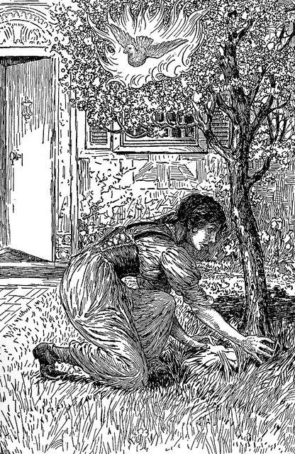 Le conte du genévrier - Louis Rhead (1917) - Conte de Grimm