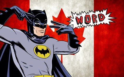word up from Batman