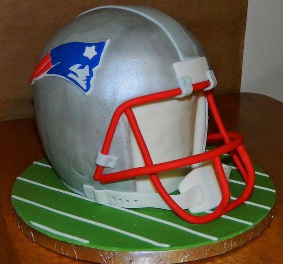 Cake Decorating Ideas Football : Football Helmet Cake Tutorial - by Maureen @ CakesDecor ...