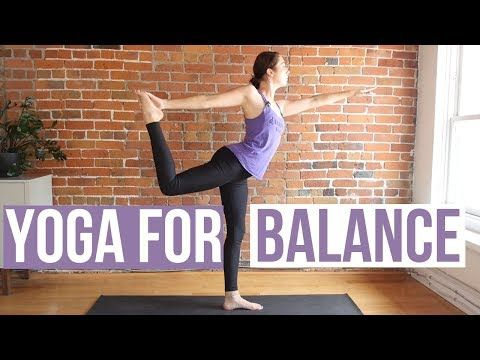 15 Min Yoga For Balance Stability With Images Yoga For Balance Yoga For Beginners Free Yoga Classes