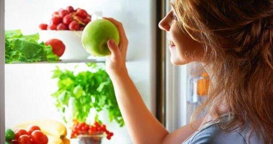 طرق تخزين الفواكه والخضروات Apple Fruit Food