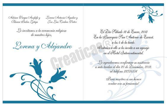 3 Redactar Una Invitación Invitaciones De Boda Costa Rica Invitaciones De Boda Invitaciones De Boda Gratis Programa De Boda